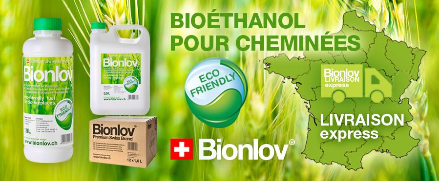 Ethanol pour cheminée