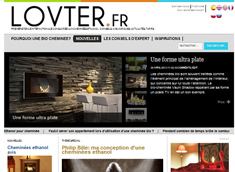 LOVTER.FR - Premiere revue internationale consacrée aux cheminées ethanol