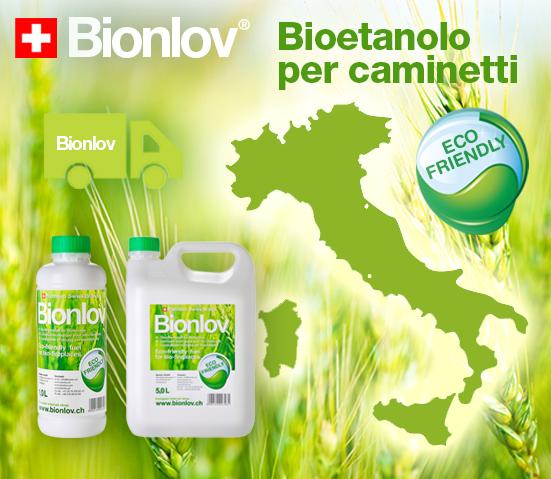 Negozio on-line Bioetanolo per caminetti